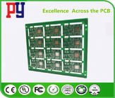 Metal Half Hole Tin Plated PCB Printed Circuit Board Monitoring / Positionin Application