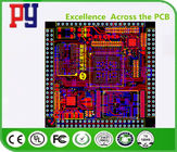 1OZ Copper Thickness Printed Circuit Board Prototype 8 Layer Red Solder Mask Color