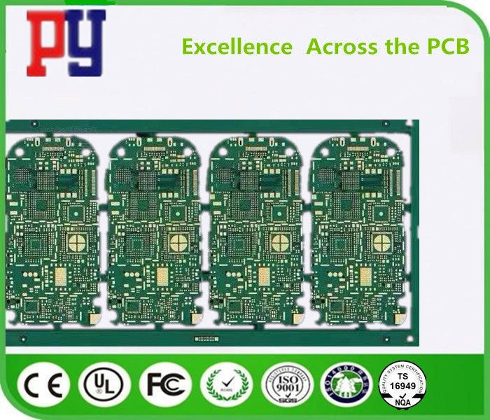 Green Solder Mask FR4 PCB Board Impedance Control PCB 1.6MM Thickness For WiFi Card