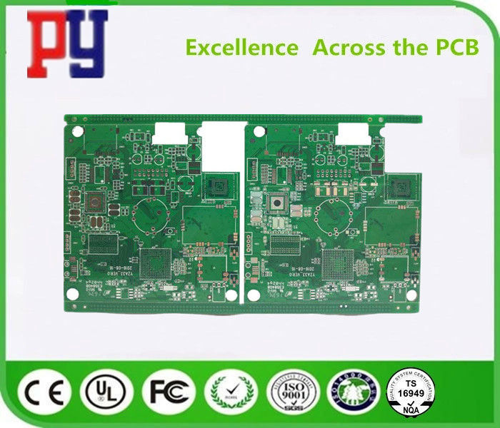 Impedance Fr4 Double Sided Pcb Car GPS Positioning System Surface Treatment LF-HASL