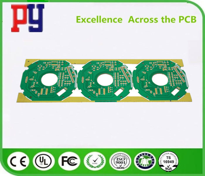 Fan Single Sided PCB Board 1.0mm Thickness Surface Finish Osp High Precision Prototype