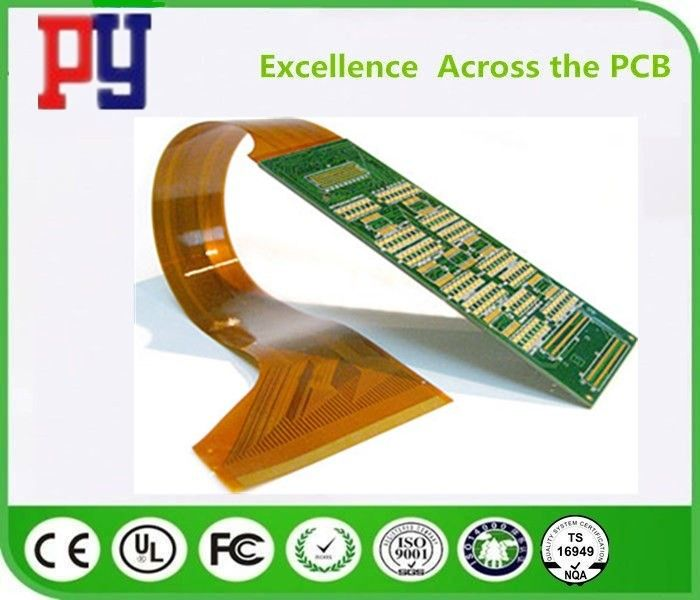 HASL Surface Finishing Flexible Pcb Prototype 6 Layer High Precision Processing