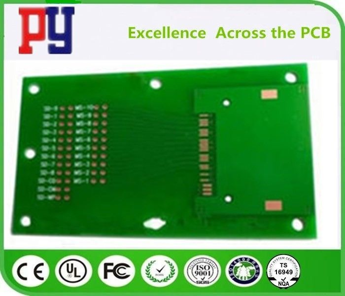 Fr-4 Tg170 Fr4 Printed Circuit Board , Double Side Printed Board Assembly With Hasl