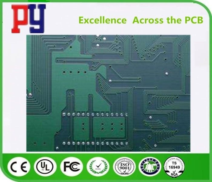 Lead Free Surface Multilayer PCB Circuit Board 6 Layer Green Fr4 Base Material 1OZ