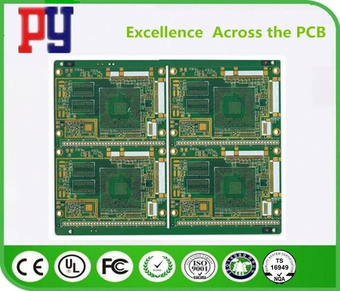 Multilayer Electronic Printed Circuit Board , Custom Pcb Board 1.6MM Thickness