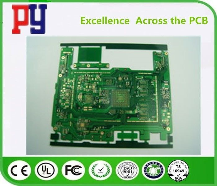 Durable Multilayer PCB Circuit Board 6 Layer Green Fr4 1OZ Copper Thickness