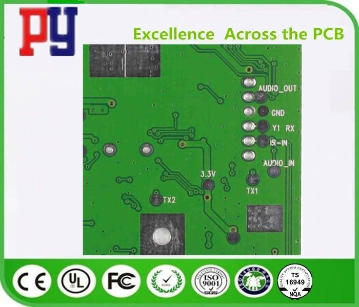 Immersion Gold Double Layer Pcb Board , High Precision Fr4 Double Sided Pcb