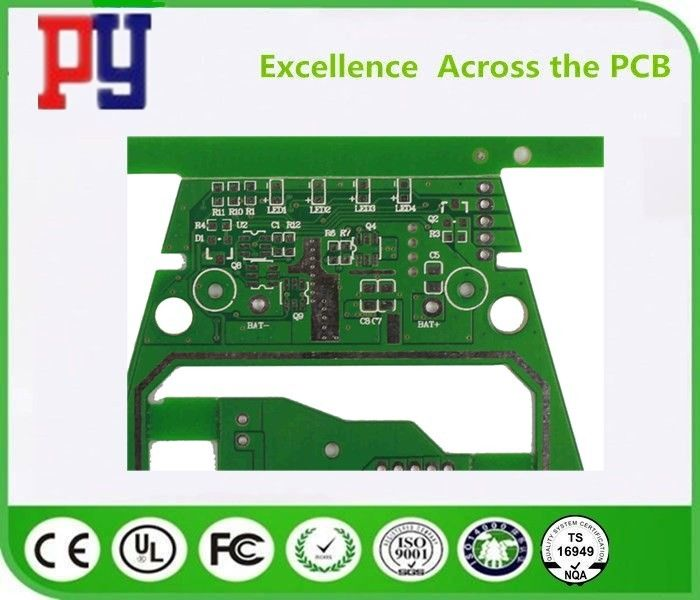 Lead Free Surface Finishing Double Sided Printed Circuit Board Fr4 Base Material